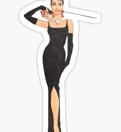 Holly Golightly Sticker