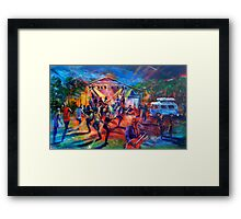 Agnes Blues Roots and Rock Festival 2016 Eightball Aitken Framed Print