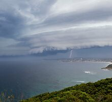 Southerly Buster Hitting Terrigal by Stephen Quennell