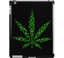 Marijuana in Marijuana Leaf [Green] iPad Case/Skin