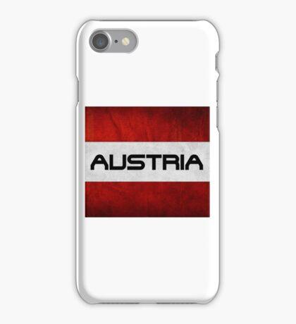 Austrian Pride T Shirt iPhone Case/Skin