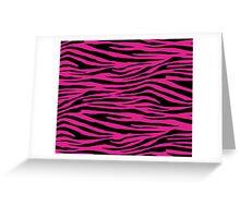0152 Barbie Pink Tiger Greeting Card