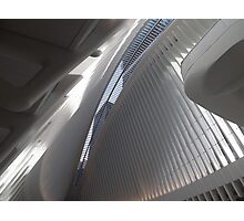 Opening Day of World Trade Center Transit Hub Oculus, Santiago Calatrava, Architect, Lower Manhattan, New York City Photographic Print