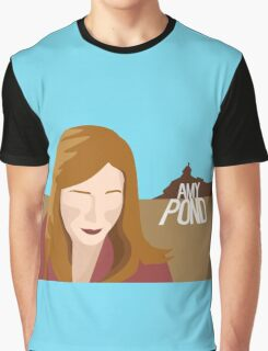 amy pond - day of the moon Graphic T-Shirt