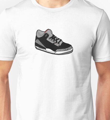 J3-Black-Cement Unisex T-Shirt