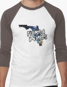 Florida Vibes Men's Baseball ¾ T-Shirt