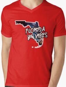 Florida Vibes Mens V-Neck T-Shirt