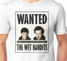 Wet Bandits Wanted  Unisex T-Shirt