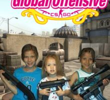 Counter strike girls with guns Sticker