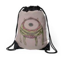 sugar skull mike Drawstring Bag