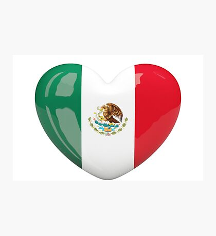 Mexico heart Photographic Print
