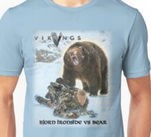Vikings Bjorn Ironside Vs Bear Unisex T-Shirt