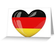 Germany heart Greeting Card