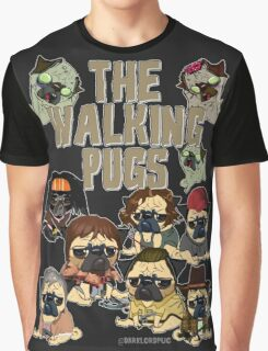 The Walking Pugs Graphic T-Shirt