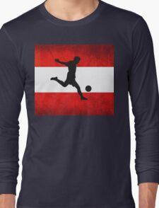 Austrian Soccer Long Sleeve T-Shirt