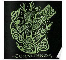 """Cernunnos, """"The Celtic Horned God"""" Poster"""