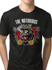 Conor Mcgregor - Notorious Fight Black Tri-blend T-Shirt