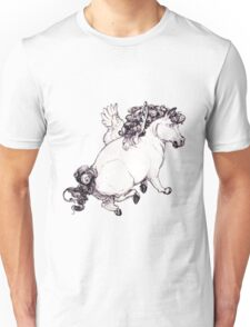 Chubby Pegasus Unisex T-Shirt