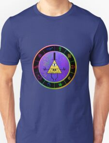 Gravity Falls Bill Cipher Wheel ~ Party Time Unisex T-Shirt