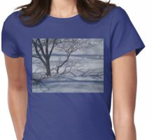 DEPTHS OF WINTER Womens Fitted T-Shirt