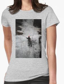 Ice Climber Womens Fitted T-Shirt