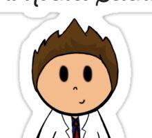 Rocket Scientist Sticker