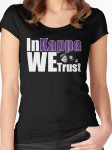 In Kappa We Trust Women's Fitted Scoop T-Shirt