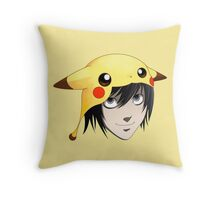L cute Throw Pillow