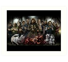 The Thing: Outpost 31 Art Print
