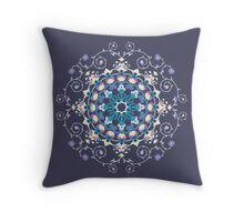 Colored Toranj Throw Pillow