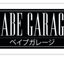 Babe Garage Sticker Slap Sticker