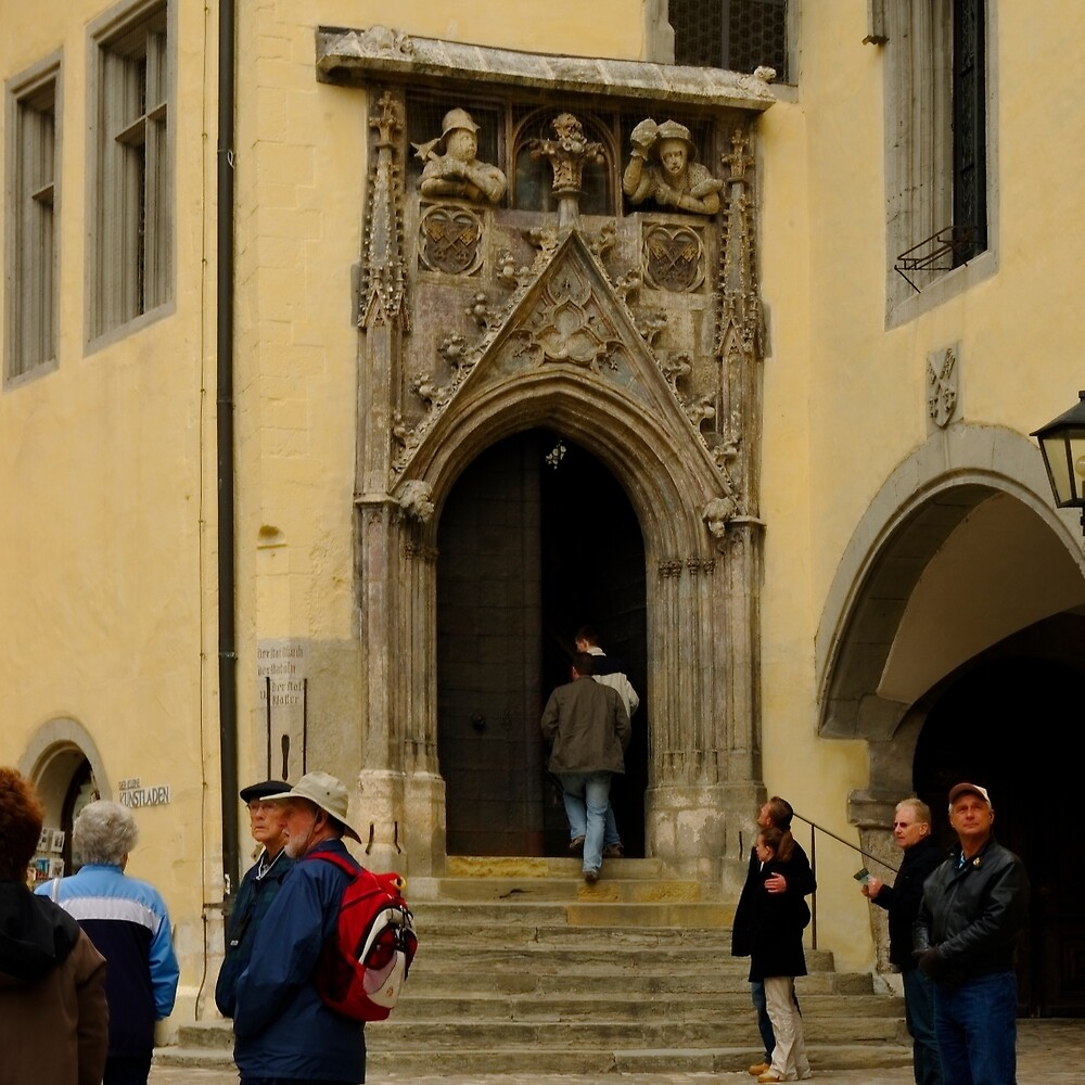 Regensburg 9 by Priscilla Turner