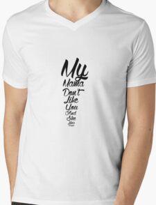 """Justin Bieber """"Love Yourself""""  Mens V-Neck T-Shirt"""
