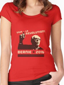 #FeelTheBern Women's Fitted Scoop T-Shirt