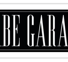 Babe Garage Japanese Sticker Slap Sticker