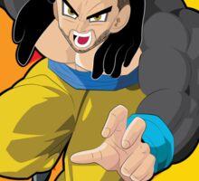 Super Habesha Saiyan IV Sticker