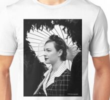 Vintage Rose in Contrast Unisex T-Shirt