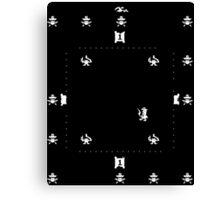 Nintendo Sheriff Arcade Game Canvas Print