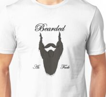 Bearded As Fuck Unisex T-Shirt