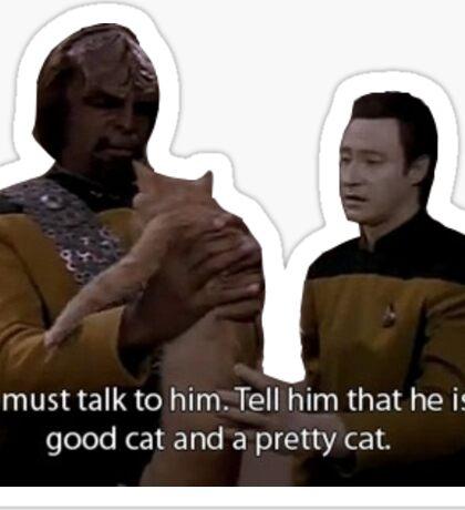 Star Trek TNG - Spot Sticker
