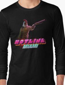 Hotline Miami- Jacket Long Sleeve T-Shirt