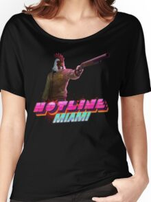 Hotline Miami- Jacket Women's Relaxed Fit T-Shirt