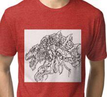 Mutated Elder Gold Dragon Tri-blend T-Shirt
