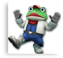 Star Fox - Slippy Toad Canvas Print