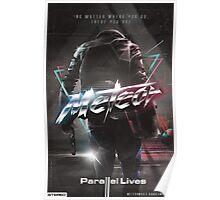 "Meteor - ""Parallel Lives"" album artwork Poster"