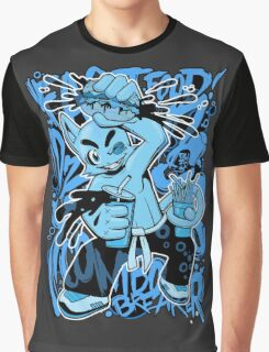 Fast Food Combo Breaker (electric blue) Graphic T-Shirt