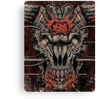 DOOM Icon Of Sin Canvas Print