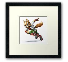 Star Fox - Fox McCloud Framed Print