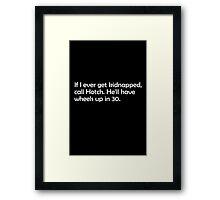 Hotch (Criminal Minds) Framed Print