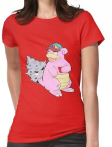 Brah The Slobro Womens Fitted T-Shirt